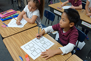 1st Graders can learn fractions when properly taught